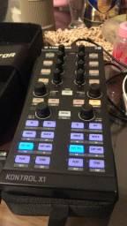 Controladora kontrol x1 e placa Áudio 2
