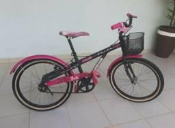 Bicicleta Caloi infantil Barbie
