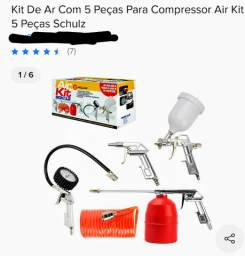 Compressor de ar + Kit Air Shultz