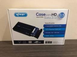 Cadê para HD sata 3.5 knup