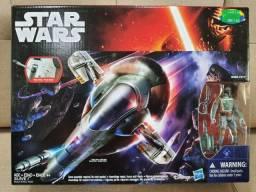 Veículo Star Wars Slave I com boneco Boba Fett