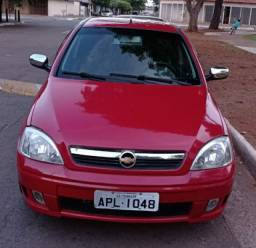 Corsa 2007/2008 vermelho