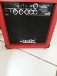 Caixa amplificador Master áudio