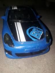 Carro de controle remoto, azul