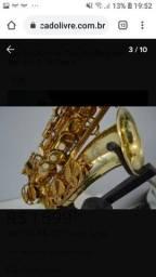 Saxofone impecável.