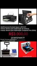 Impressora Epson / Máquina de estampar canecas / Máquina para estampas