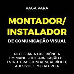 Vaga em empresa de comunicação visual