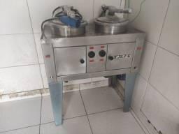 Fritadeira de frango - fritadeira de pressão - elétrica