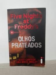 Livro Five Nights At Freddy's Olhos Prateados