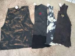 Camisetas e regatas masculinas