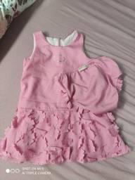 Lote de roupas tamanho 1,2,3 anos - menina