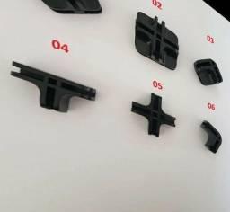 Conectores para balcão de vidro ou aramado 4mm