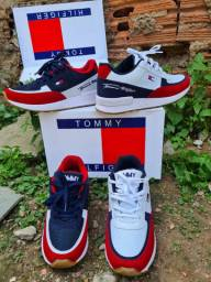 Tenis tommy hilfiger sapato