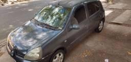 Clio 2006 cinza completo