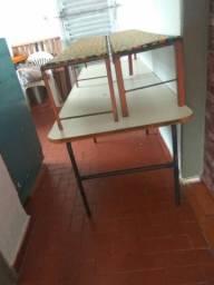 Mesa de refeitório infantil
