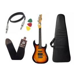 Guitarra memphis mg32 com amplificador