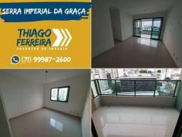 Serra Imperial da Graça, 3 quartos com suíte em 102m²