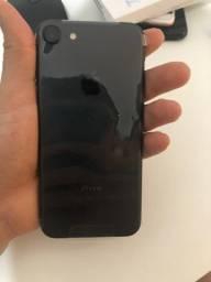 Apple Iphone 7 128gb Preta Novo Com 1 Ano de Garantia