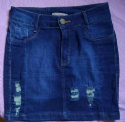 Saia jeans-36