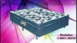 Direto da fabrica - cama box casal conjugada - novinha e embalada - aproveita