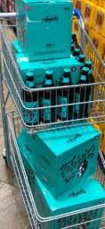 6 caixas com 60 cervejas da Ampolis