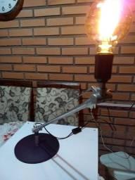 Luminária Articulada metálica Antiga