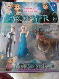 Brinquedo Kit Bonecos Frozen