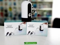 Bomba Automática para Garrafão Bebedouro - Recarregável USB