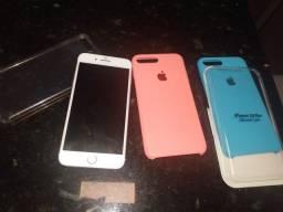 Vendo iPhone 7 Plus 32g Rose muito novo