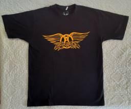 Título do anúncio: Camiseta Banda, Rock - AEROSMITH