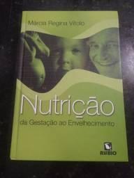 Box de livros de nutrição seminovos