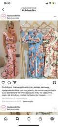 Conjunto floral rosa