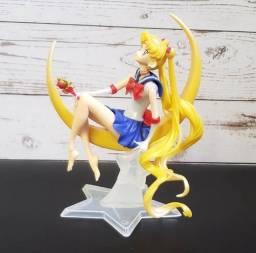 Action Figure Boneco Serena - Sailor Moon 15cm Novo!
