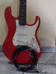 Guitarra Memphis MG22. Caixa Meteoro MG-15 Guitar Amplifier...