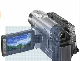 Câmera Sony DCR-DVD810- 8GB - zoom de 25x