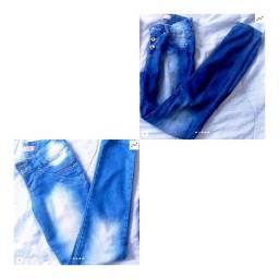 Calças jeans do 34 ao 36