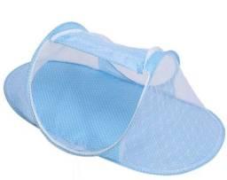 Título do anúncio: Bercinho mosqueteiro Baby Bed  - Azul ou Rosa