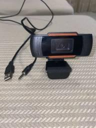 Vende-se Webcam com microfone embutido