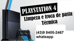 Limpeza completa de PS4