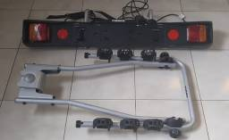 [Kit 2em1]: Suporte 3 Bicicletas Engate Thule HangOn (974) + Placa c/ luzes Thule (976)