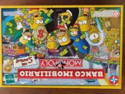 Banco Imobiliário dos Simpsons - Jogo de Tabuleiro