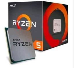 Ryzen 5 1600 com caixa, cooler, manual... aceito trocas