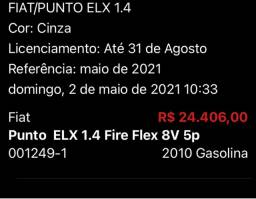 Punto elx 1.4 fire 2010