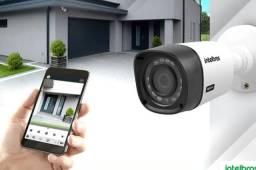 Instalação e manutenção de câmeras de segurança CFTV e alarmes