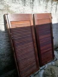Vernezianas de madeira