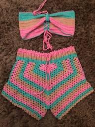 Conjunto  Croche