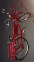 Bicicleta cargueira  nova zerada So munta e andar
