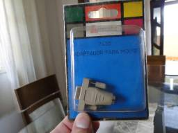 Adaptador Mouse Antigo Serial Db9 M X Ps2 Minidin