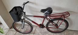 vendo uma bicicleta aro 24 top com sextinha e cadeado