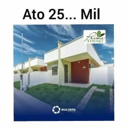 Ca70--Casa com suite 3 quartos